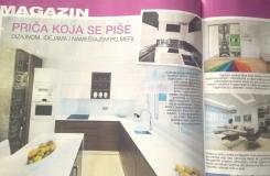 Časopis Moj stan o 3A dizajnu