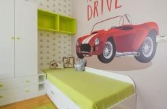 Oduševljenje za dečaka - 3A dizajn - izrada spavaćih soba po meri